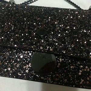 Jimmy Choo Bags - NWT Jimmy Choo Finley Bronze Glitter Cross body